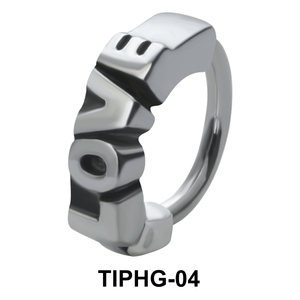 Love Shaped Upper Ear Design Rings TIPHG-04