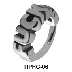 Fuck Shaped Upper Ear Design Rings TIPHG-06