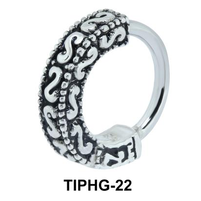 Complex Upper Ear Design Rings TIPHG-22