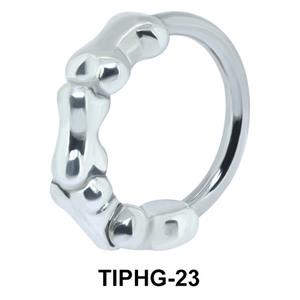 Bones Shaped Upper Ear Design Rings TIPHG-23