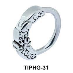 Delicate Design Upper Ear Piercing Ring TIPHG-31