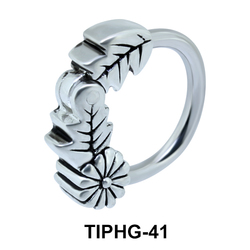 Flora Fauna Upper Ear Piercing Ring TIPHG-41