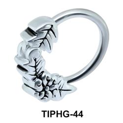 Leaves Upper Ear Piercing Ring TIPHG-44