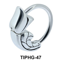Bud Upper Ear Piercing Ring TIPHG-47