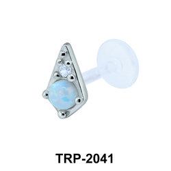 Opal Tragus Piercing TRP-2041