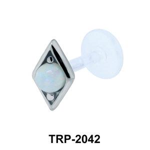 Opal Tragus Piercing TRP-2042