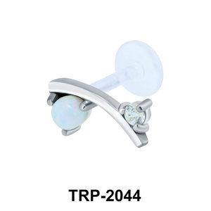 Opal Tragus Piercing TRP-2044