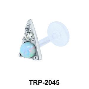 Opal Tragus Piercing TRP-2045
