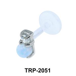 Opal Tragus Piercing TRP-2051