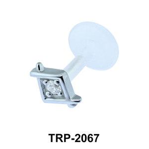 CZ Tragus Piercing TRP-2067