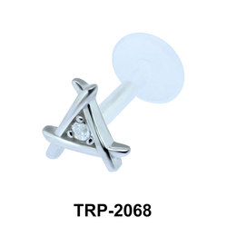 CZ Tragus Piercing TRP-2068