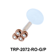 CZ Tragus Piercing TRP-2072