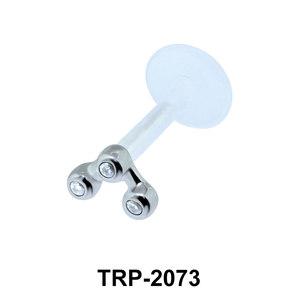 CZ Tragus Piercing TRP-2073