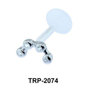 CZ Tragus Piercing TRP-2074