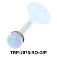 Opal Stone Tragus Piercing TRP-2075
