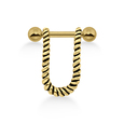 Rope Design Helix Piercing TIP-240