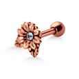 Delicate Flowery Helix Ear Piercing TIP-677