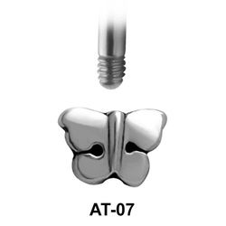 Butterfly Shaped 1.2 Piercing Attachment AT-07