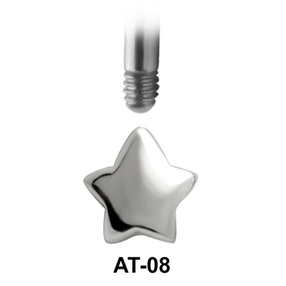 Star Shaped 1.2 Piercing Attachment AT-08