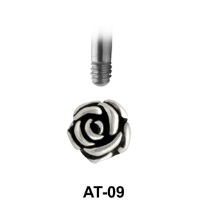 Rose Shaped 1.2 Piercing Attachment AT-09