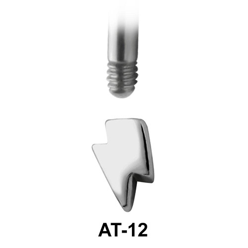Thunderbolt Shaped 1.2 Piercing Attachment AT-12