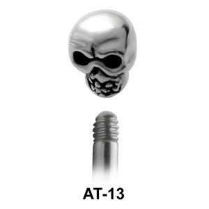 Skull Shaped 1.2 Piercing Attachment AT-13