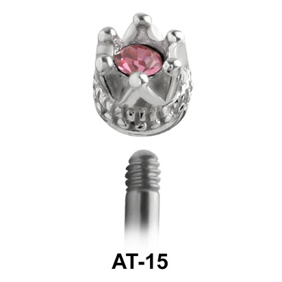 Crown Shaped 1.2 Piercing Attachment AT-15