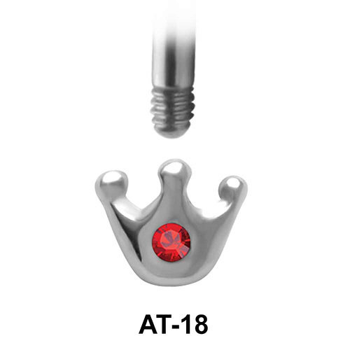 Crown Shaped 1.2 Piercing Attachment AT-18