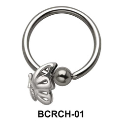 Butterfly Closure Rings Charms BCRCH-01