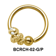 Snake Closure Rings Charms BCRCH-02