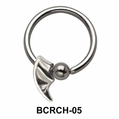 Blade Closure Rings Charms BCRCH-05