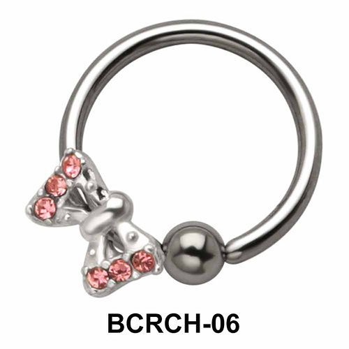 Butterfly Closure Rings Charms BCRCH-06