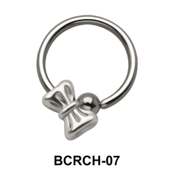 Bow Closure Rings Charms BCRCH-07
