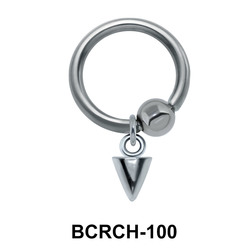 Spike Closure Rings Charms BCRCH-100