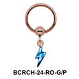 Hot Helix Charm And Closure Ring BCRCH-24