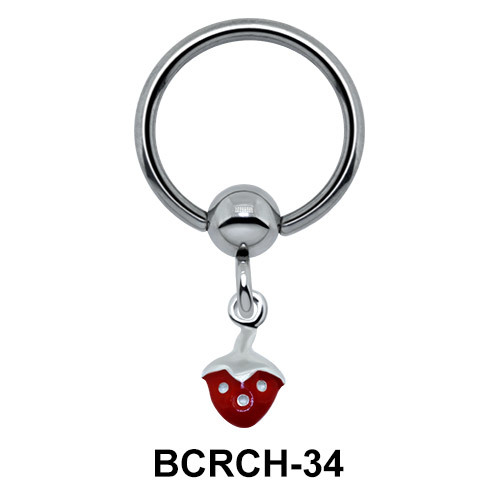 Fruity Closure Ring With Charms BCRCH-34