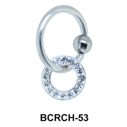 Hanging Closure Rings Charms BCRCH-53