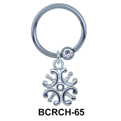Swanky Design Closure Rings Charms BCRCH-65