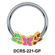 Enamel Butterfly Closure Rings DCRS-221