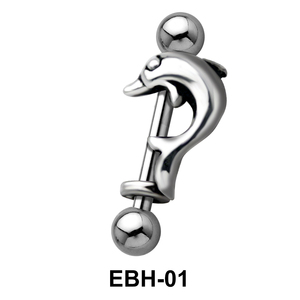 Fish Ball Eyebrow Piercing EBH-01