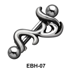 Climber Shaped Eyebrow Piercing EBH-07