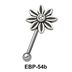 Flower Shaped Eyebrow Piercing EBP-54