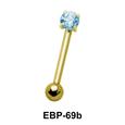 Round CZ Eyebrow Piercing EBP-69