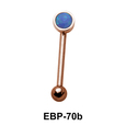 3 mm. Opal Eyebrow Piercing EBP-70