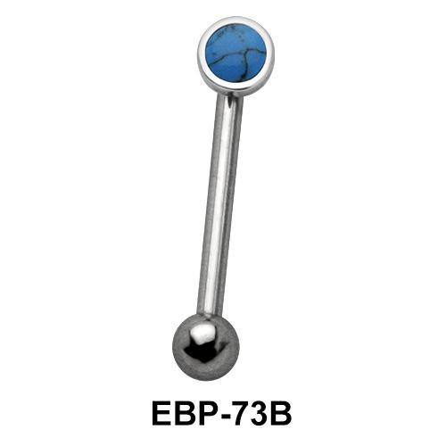 2.5 mm. Turquoise Eyebrow Piercing EBP-73