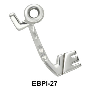 LOVE Eyebrow Parallel Push-In EBPI-27
