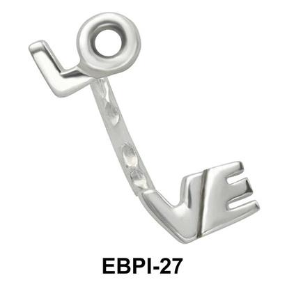 LOVE Eyebrow Parallel Push-In EBPI-27