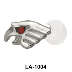 Eagles Face Shaped Labrets Push-in LA-1004