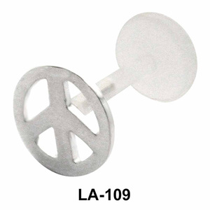 Wheel Shaped Labret Push-in LA-109