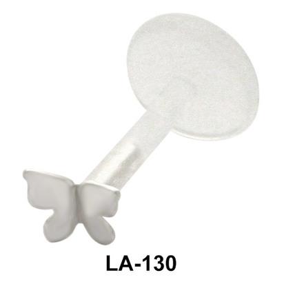 Butterfly Shaped Labret Push-in LA-130